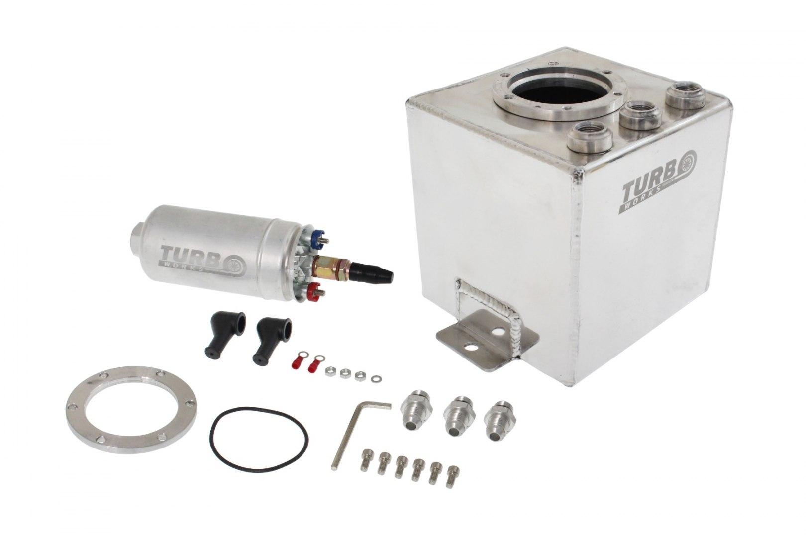 Zbiornik paliwa dodatkowy 2L z pompą - GRUBYGARAGE - Sklep Tuningowy
